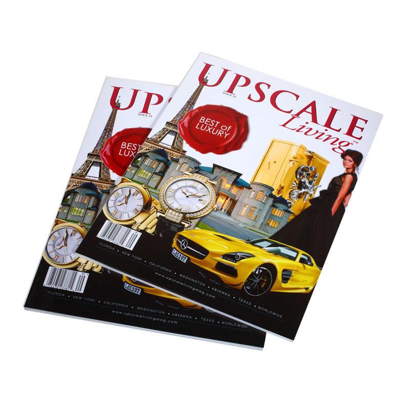 2015 melhor chep china impressão digital 200 página serviço de impressão de revistas