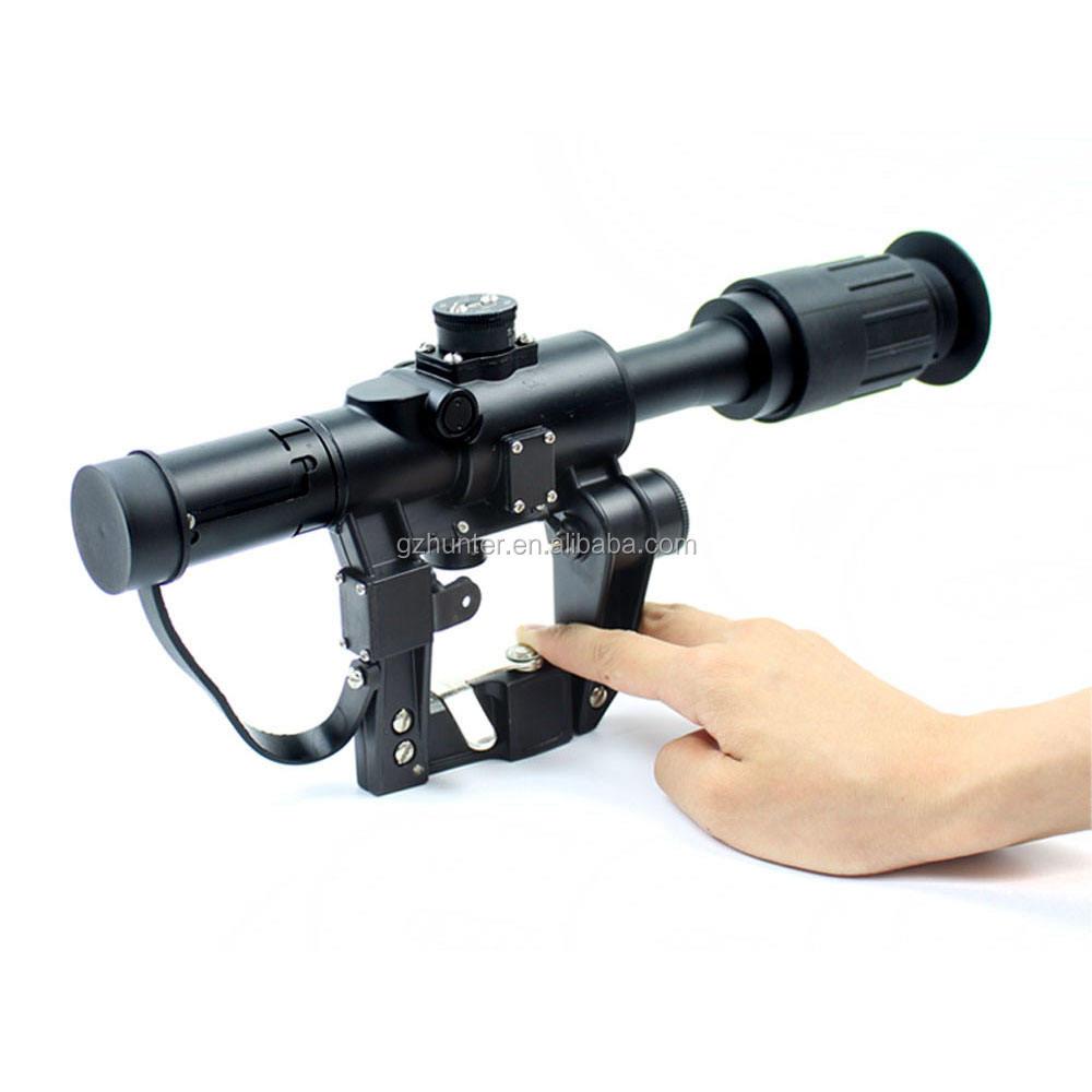 4x26 Heavy Duty military ak Gun rifle scope Per SVD Gun AK 47