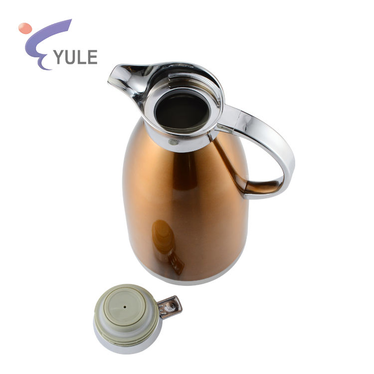 Hogar duradero agua de vacío de acero inoxidable de doble pared termo de café