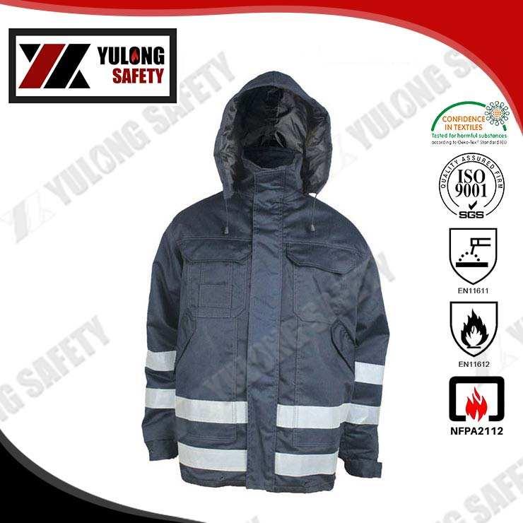 Заводская распродажа EN14116 хлопок противопожарные куртки