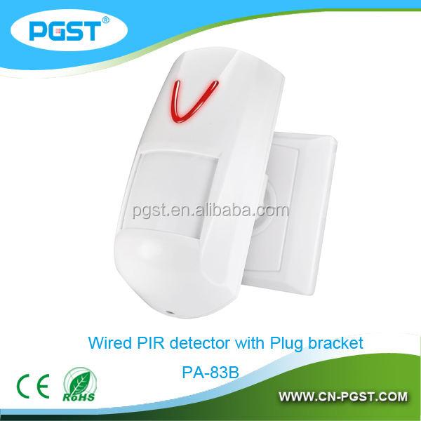 Wall mounted detecção humana PIR sensor, Presença detecção sensor, CE RoHS