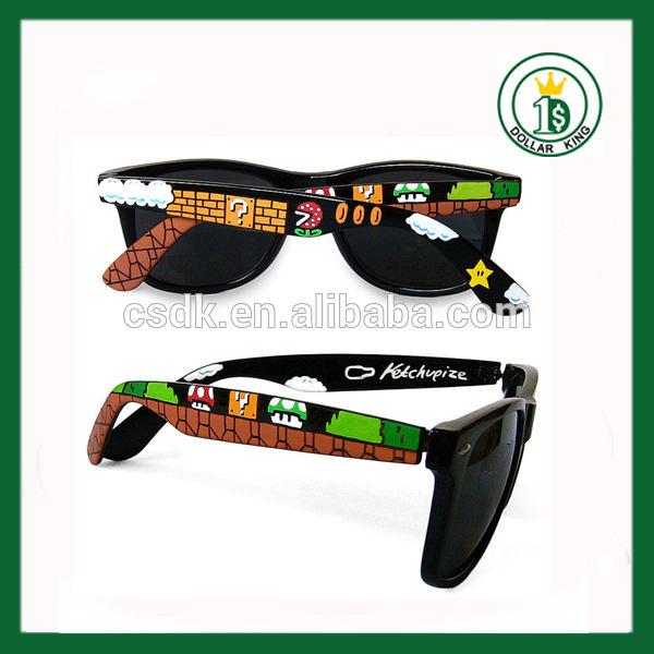 Vasos de imitación, gafas de sol desnudos, venta al por mayor baratos gafas de sol