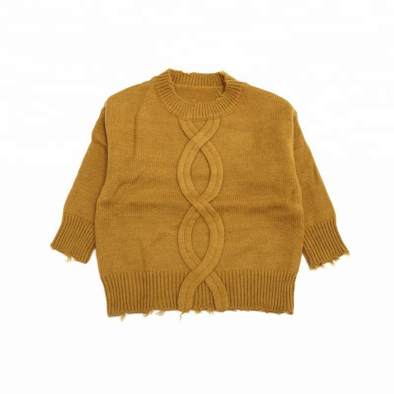 Детский свитер производитель новый стиль свитер для мальчиков и девочек