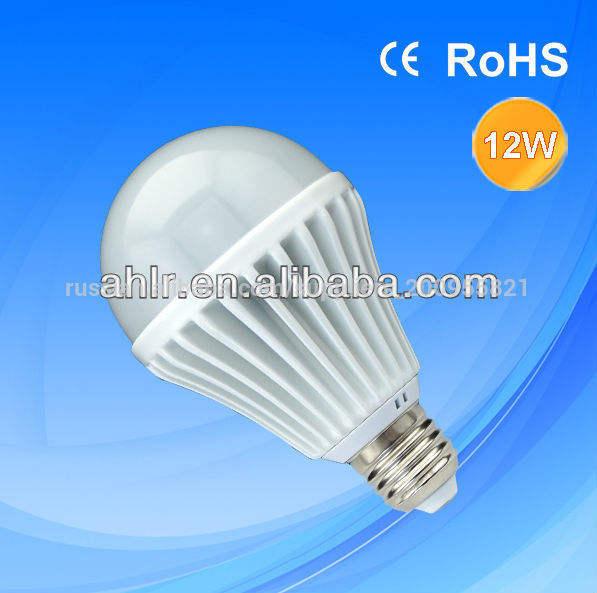 горячий продавать 12w <span class=keywords><strong>e27</strong></span> светодиодная лампа освещения с более дешевой цене и алюминиевые крышки