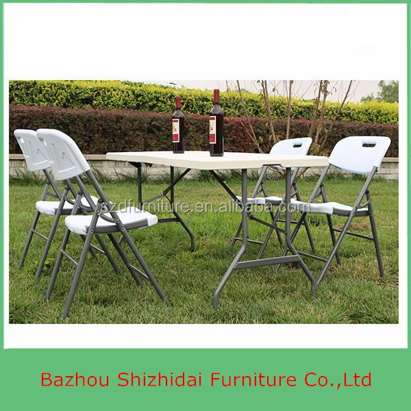 卸売価格屋外折りたたみ プラスチック の テーブル と椅子SD-152F