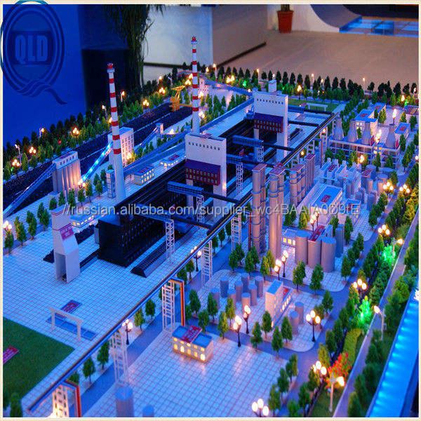 промышленные строительство макета масштаб модели / промышленные планирование модель