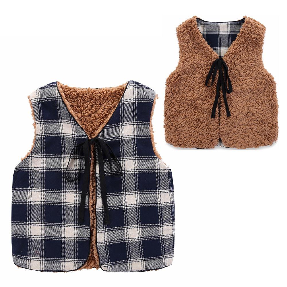 Мечта Колыбель одежды для маленьких мальчиков 2 боковых Осень Дети жилет