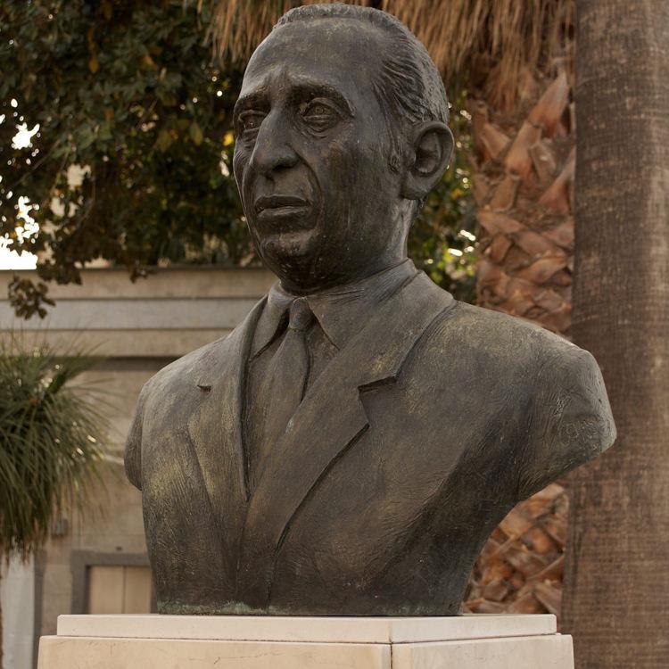 الفن الاستنساخ تماثيل في الهواء الطلق حديقة الفوقية التمثال سالفاتوري D'Esposito تمثال
