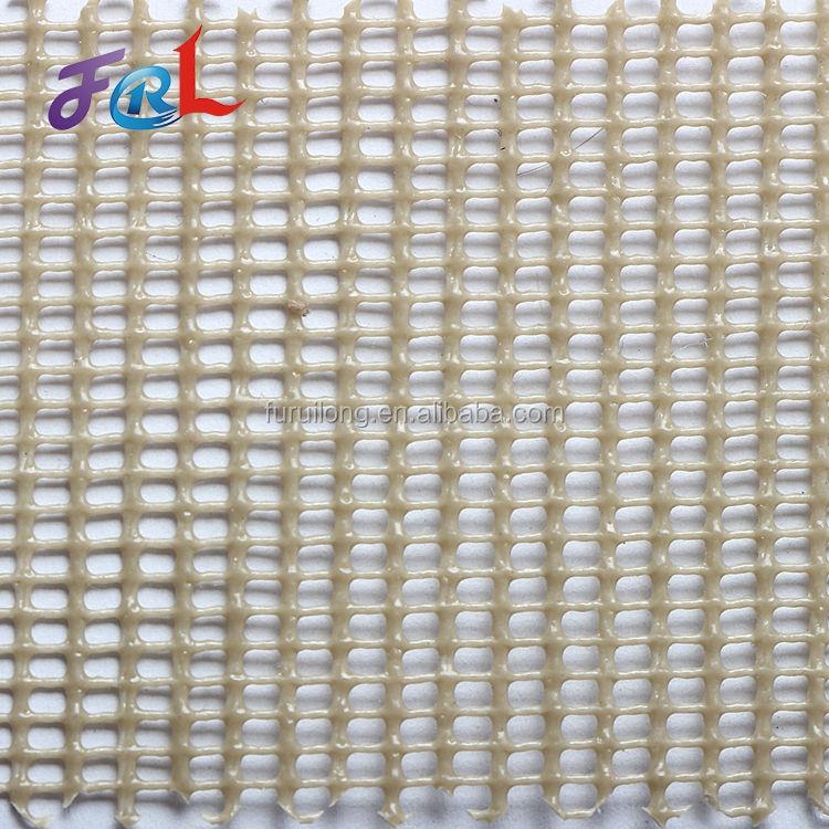 3D drenaje compuesto plástico blanco red de malla cuadrada