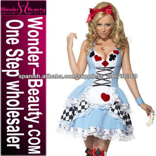 Alice fantasía mujeres traje atractivo