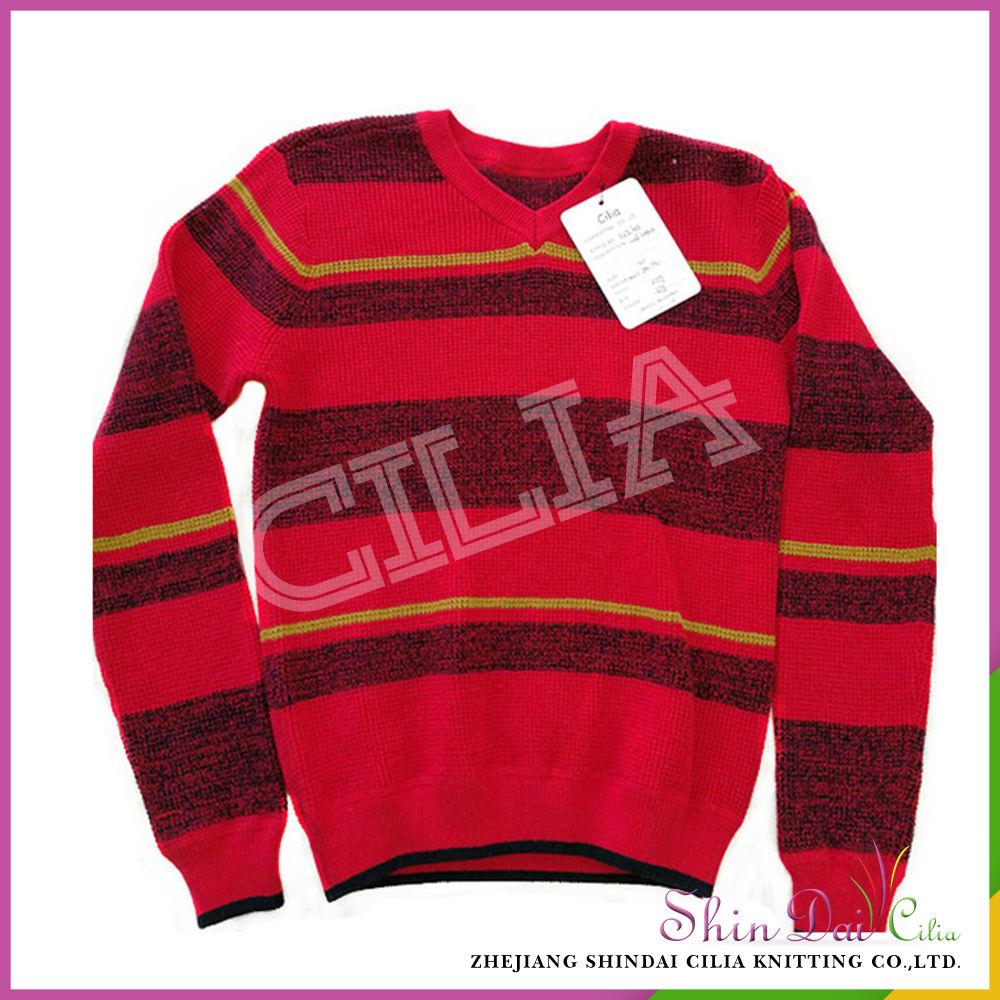 Alibaba китая оптом мальчик школа стиль v шеи свитер