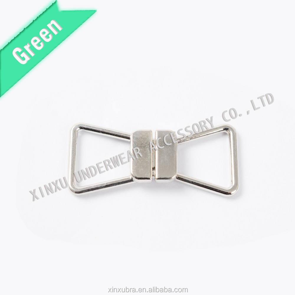 2016 nuevo traje de baño de metal hebillas en el pecho/sujetador de metal broche de accesorios de la ropa