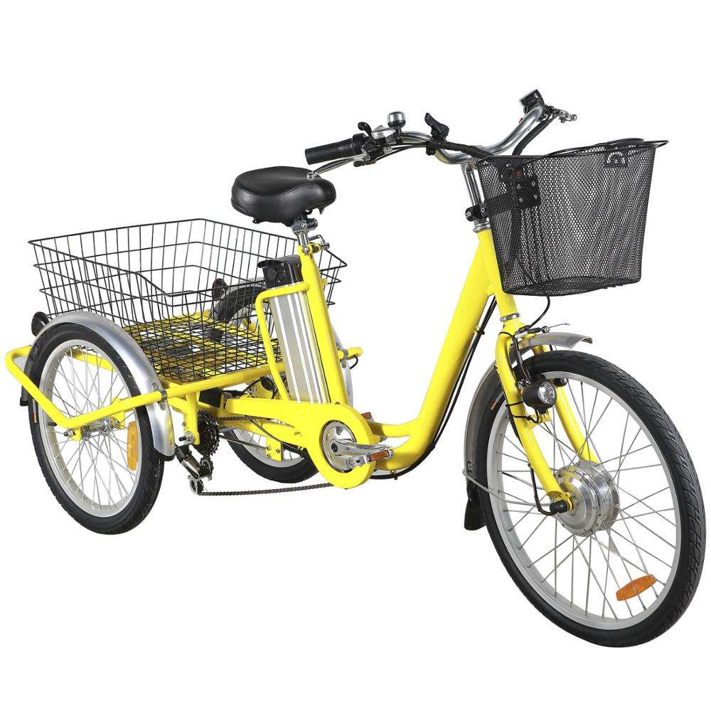 2018 Hot Sale Three Wheels Cargo Electric Tricycle With 36V 250W E Trike