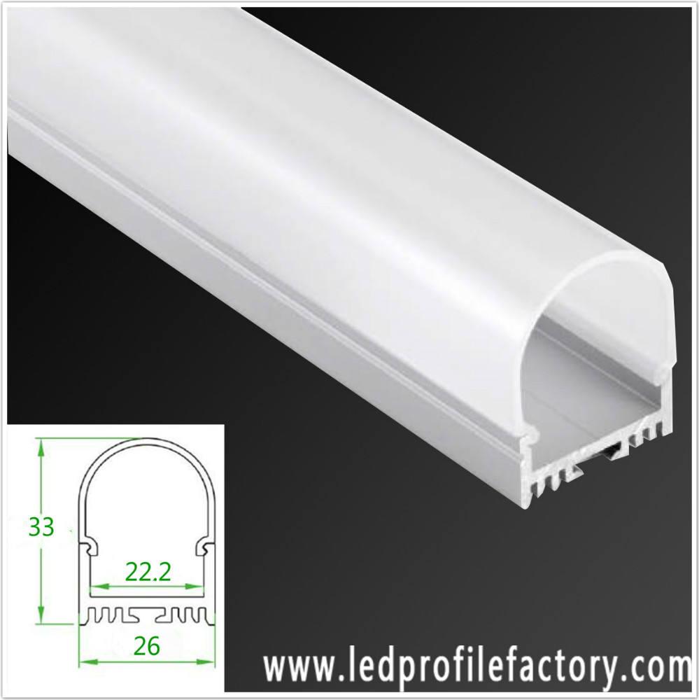 Приостановлено u-образный LED Алюминиевый Профиль/Канал/Профиль для светодиодные полосы с красочными свет и USB функция ввода