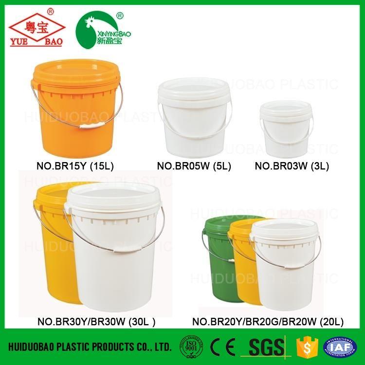 Personalizado barato por atacado grande tinta de água tambor praia baldes de plástico 5 10 20 30 litros balde de plástico com tampa com tap
