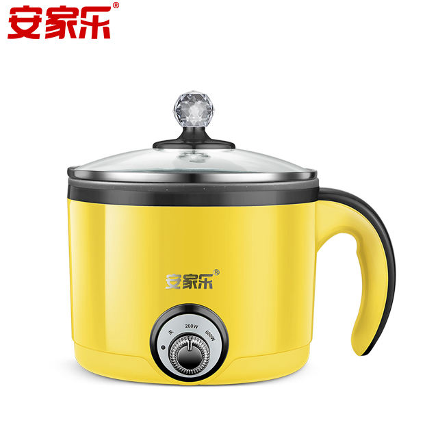 Stainless steel new style electric cast iron slow cooker with stainless steel inner pot