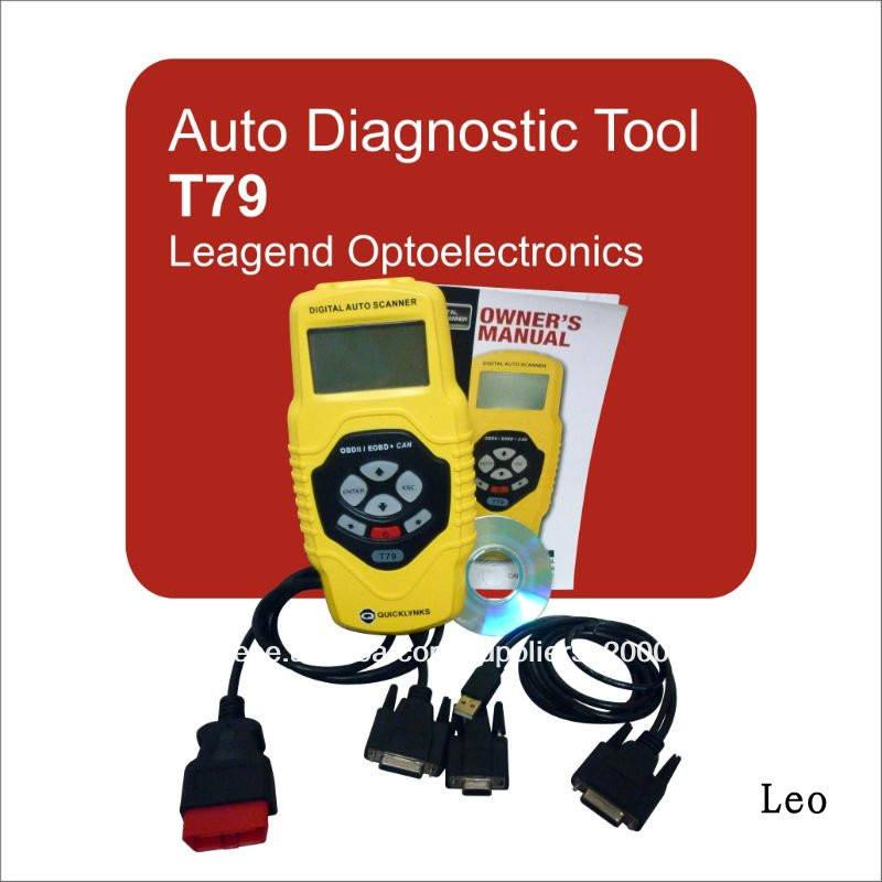 Multi- funcional obd2/obdii ferramenta de verificação pode digitalizar ferramenta diagnóstica t79, obd2 pode trouble <span class=keywords><strong>scanner</strong></span>