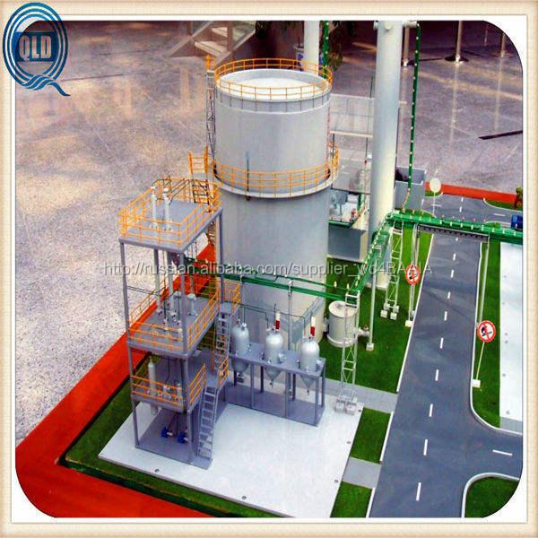 Семинар завод модель строитель / рябь dtail семинар строительство макета / промышленные строительные планы 3 D моделирование