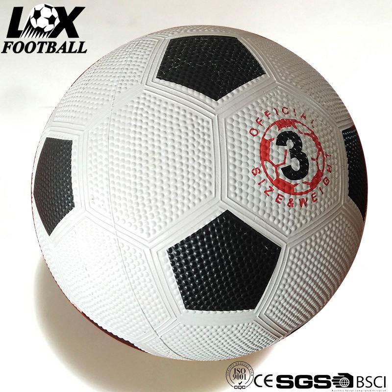 Enfants Articles de sport en caoutchouc sur mesure football taille 3 ballon de football