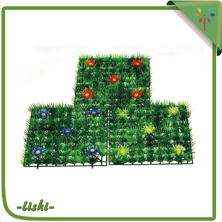 Venta caliente de alta eficiencia 30*30 cm a prueba de agua de alta eficiencia energética de pared verde