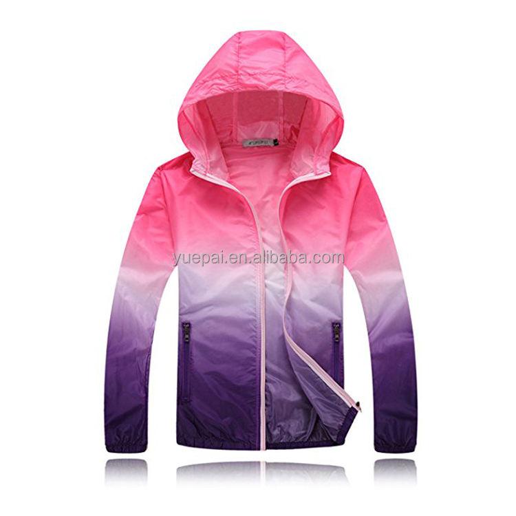 Индивидуальный дизайн сублимации оптом оптовая продажа зимних видов спорта водонепроницаемая ветровка Женская куртка с капюшоном