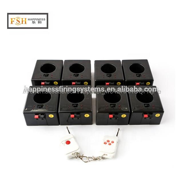 8 canaux télécommande sans fil d'intérieur fontaines feux d'artifice système <span class=keywords><strong>de</strong></span> tir