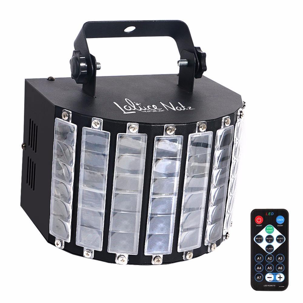 27 Вт многоцветная светодиодная DJ Дерби световой эффект с пультом дистанционного управления для клубных вечеринок