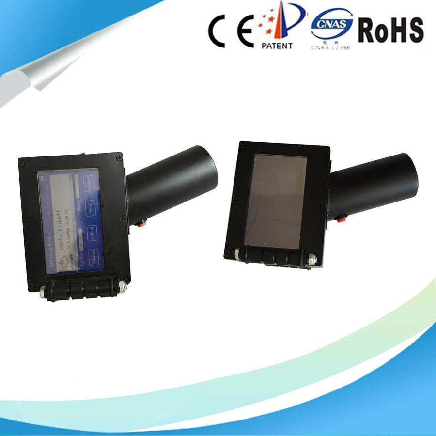 Haute précision automatique d'impression jet d'encre handheld barcode scanner imprimante ordinateur