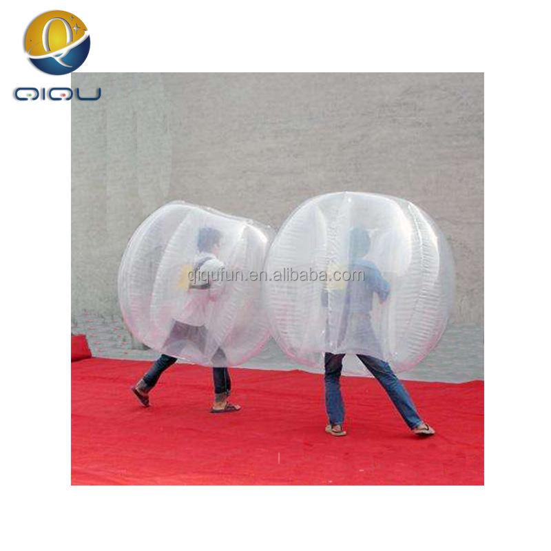 CE Dia1.2m1.5m1.7m PVC TPU riesigen menschlichen <span class=keywords><strong>aufblasbare</strong></span> stoßblase ball