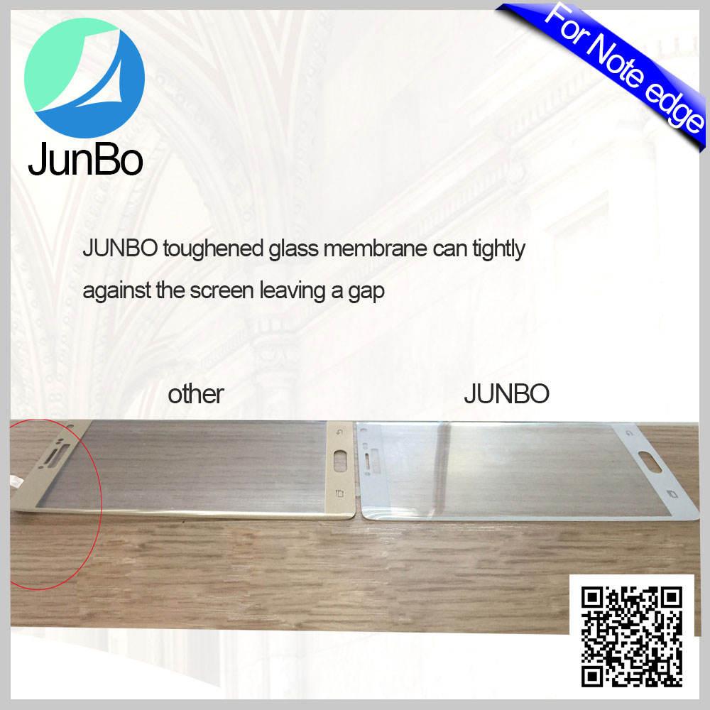 2016 Alibaba Haute Classe 9-10 H Immobilier Trempé Verre Film Protecteur D'écran En Gros pour Samsung Galaxy Note Bord