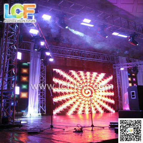 الصمام المرحلة الشاشة p4 للحفل/ المرحلة داخلي كامل لون شاشة led/ مرونة بالألوان الكاملة الصمام الشاشة