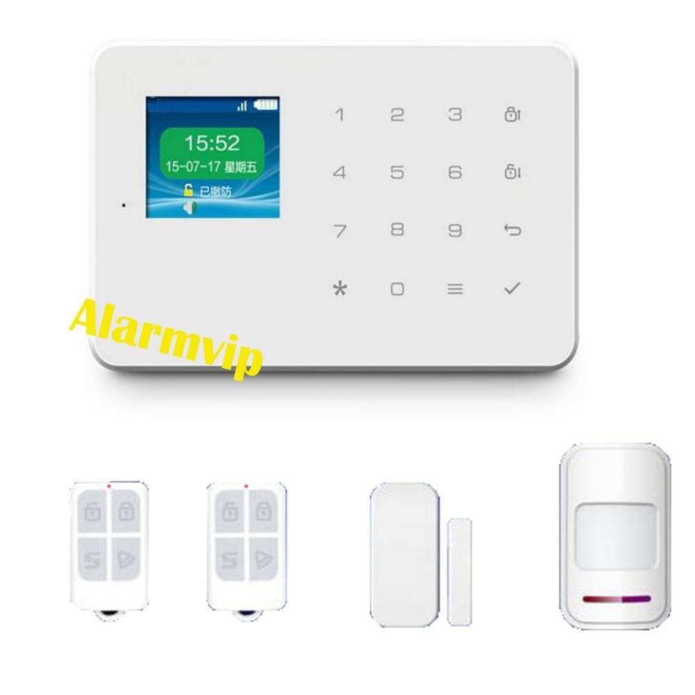 дешевые LCD GSM охранной сигнализации G18