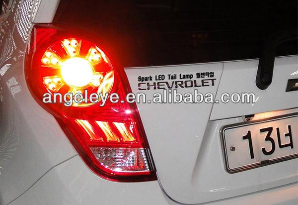 шевроле spark светодиодные задний фонарь 2009 для 2011