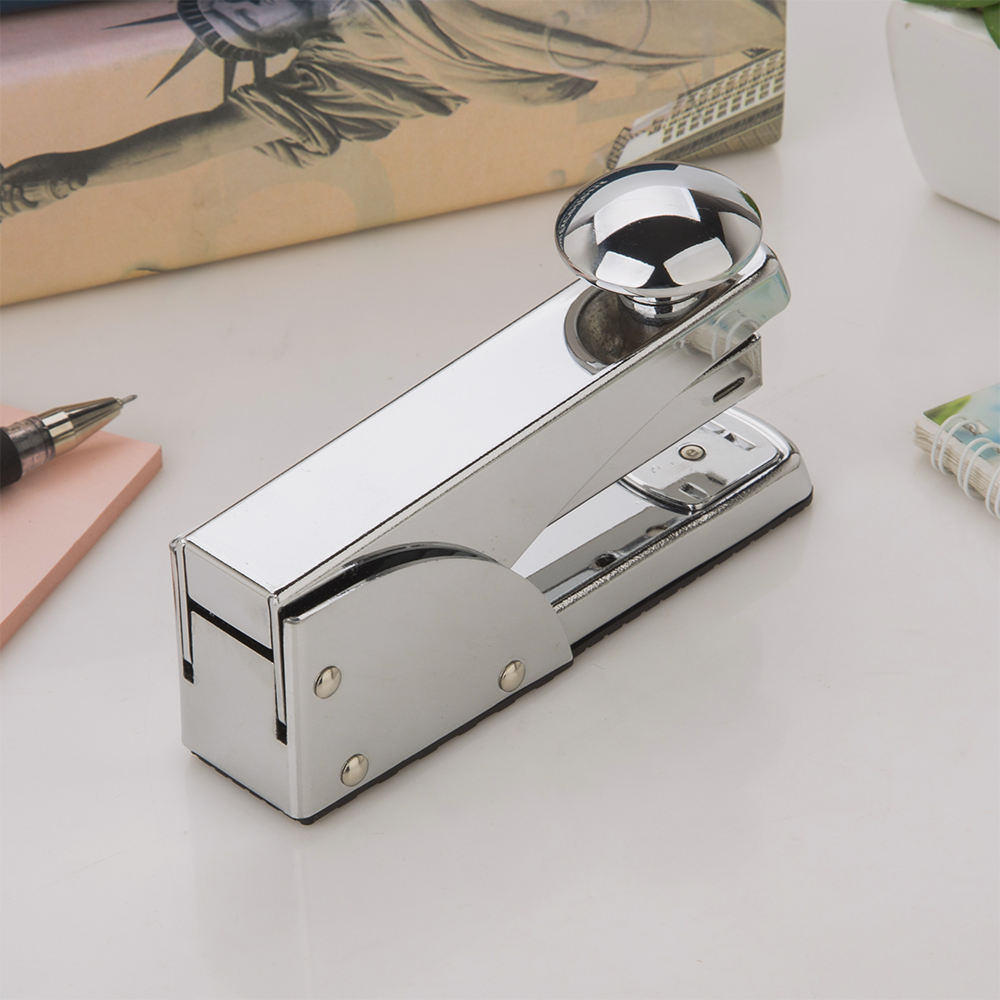 Chrome carton box stapler book binding big office