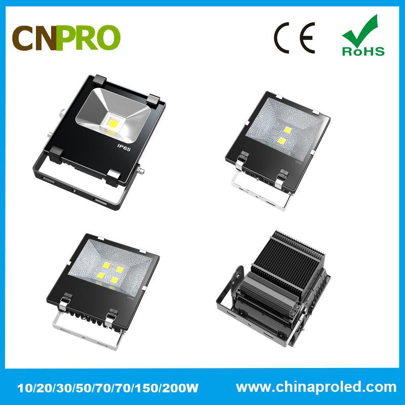 Фабрика питания подходит высокий люмен светодиодный прожектор 70 Вт AC100-240V 2 года гарантии