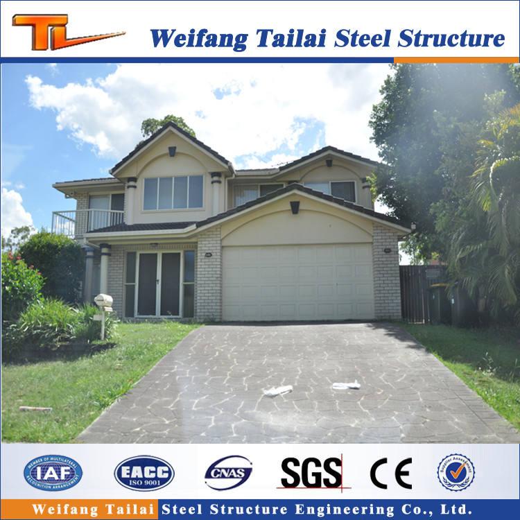Trung quốc <span class=keywords><strong>chi</strong></span> phí thấp hiện đại kết cấu thép villa nhà nhà sản xuất