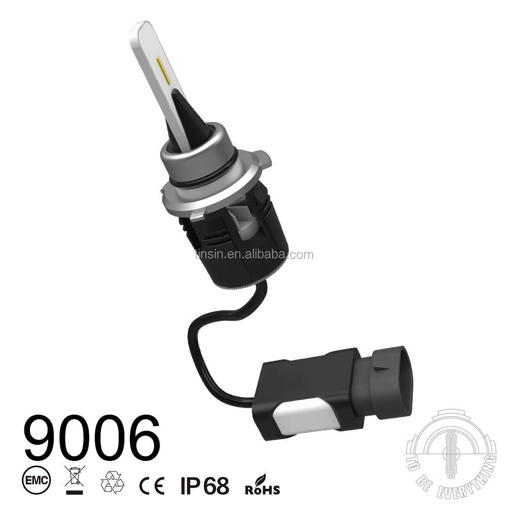 12 v / 24 V Oto Parçaları LED Ampul 360 ışık led far H11 60 w 8400lm