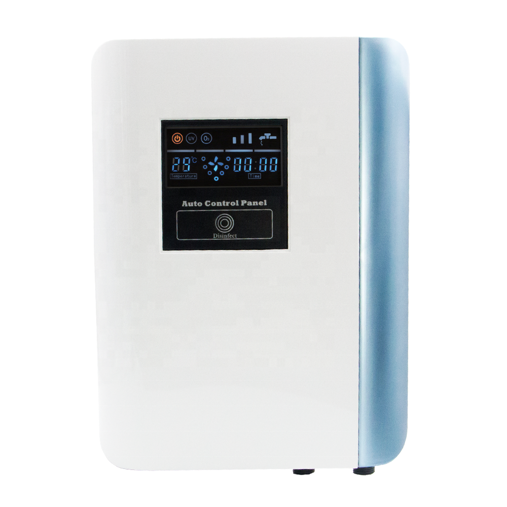 AQUAPURE Intelligent household ozone water sterilizer WPOZ1.0 with water flow switch, venturi, static mixer, LCD screen