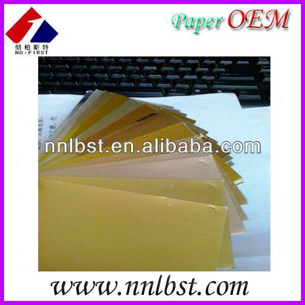 алюминиевая фольга золотой бумаги