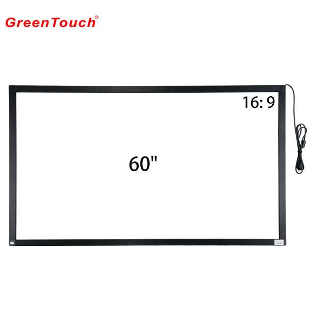 60 polegadas infravermelho quadro multi-toque frame de sobreposição de IR touch over