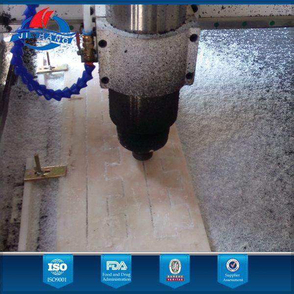 Prensado en caliente CNC plástico sintético pista de patinaje sobre hielo hockey pad