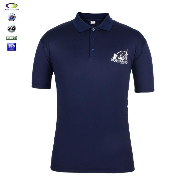 Dri Fit Camisas Pólo Impressão da tela Por Atacado Para O Homem