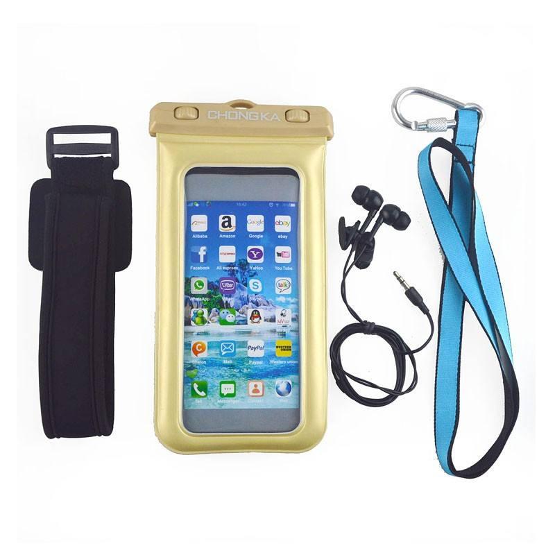 Di alta qualità impermeabile caso per <span class=keywords><strong>iphone4</strong></span>/PVC impermeabile sacchetti di plastica per i telefoni cellulari