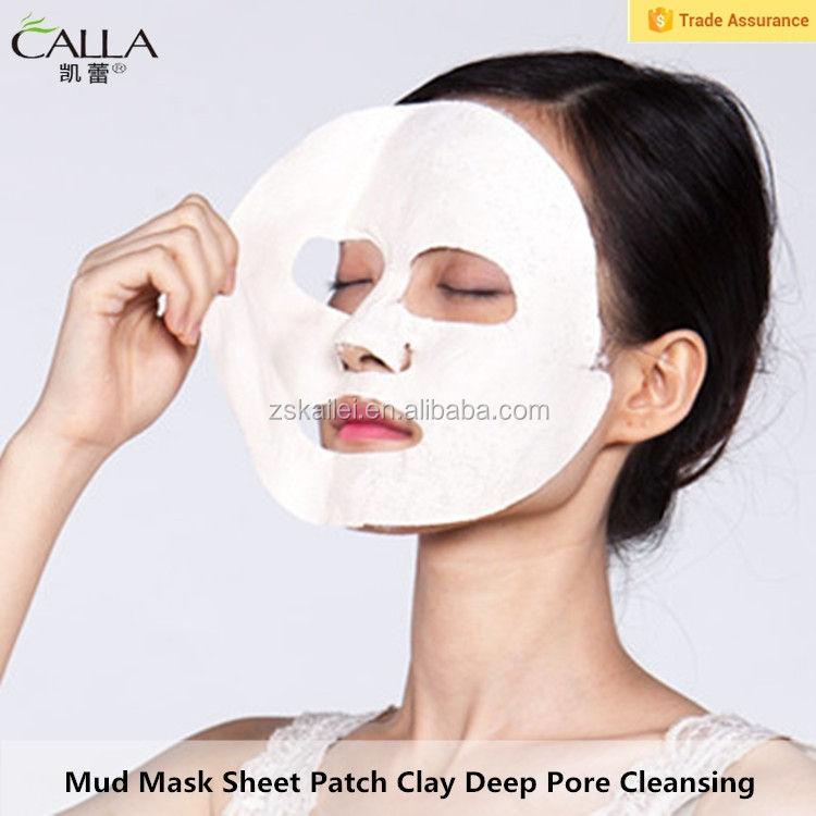 진흙 마스크 시트 패치 클레이 여드름 & 안티 에이징 마스크