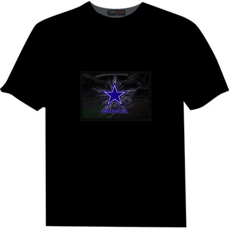 Electroluminiscencia <span class=keywords><strong>ecualizador</strong></span> música activado <span class=keywords><strong>el</strong></span> camiseta