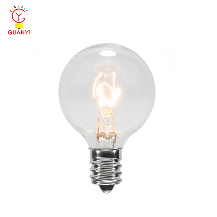 UL G40 Global Clear Vervanging Retro Verlichting <span class=keywords><strong>Lampen</strong></span> voor String Licht