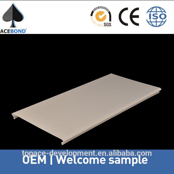 Profesional actualización venta al por mayor proveedor decoración del techo de aluminio para metal decorativos paneles de techo