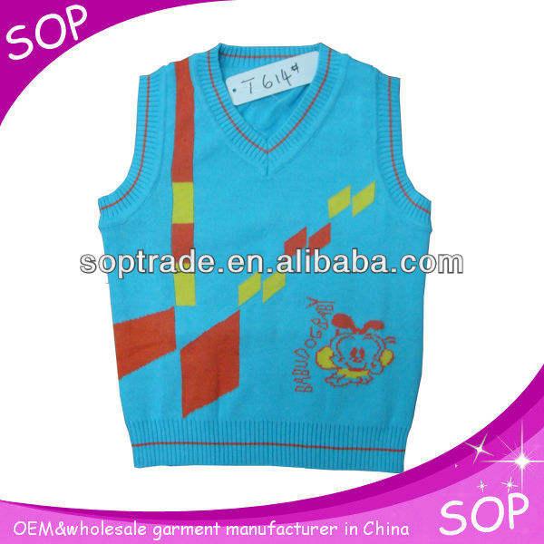 ребенка оптовая ёилет свитер из китая производитель