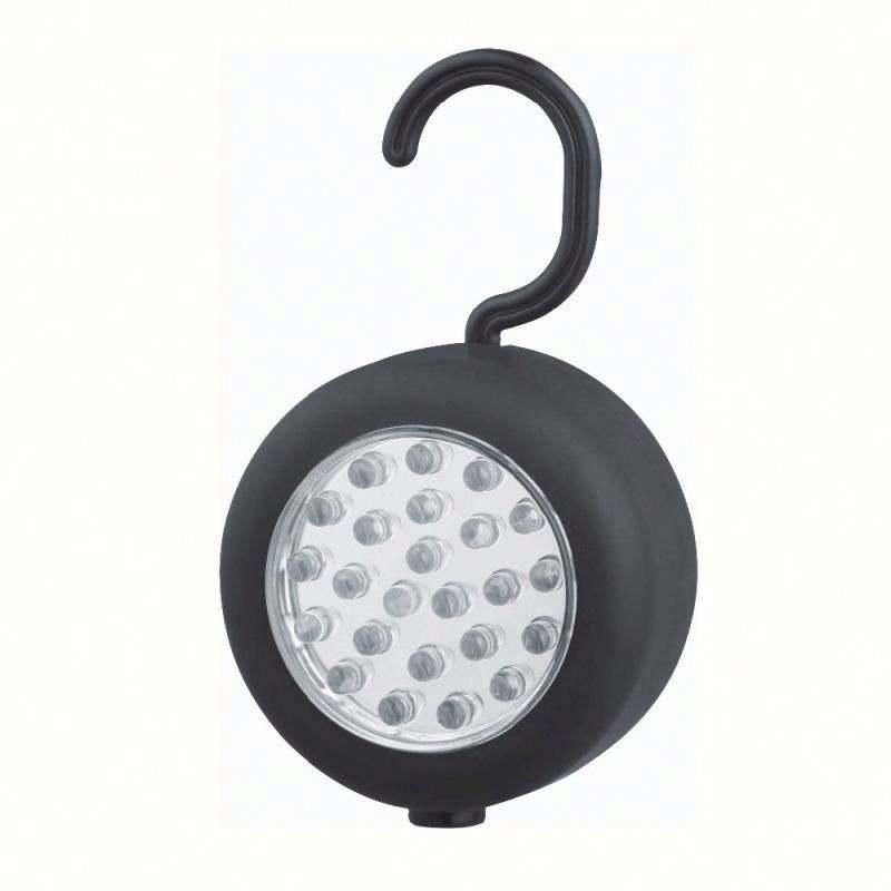 Z & M 24 LED Inspección 4' Luz Trasera Magnética Con Gancho Giratorio llevó la luz de trabajo 18 w del trabajo del led luz