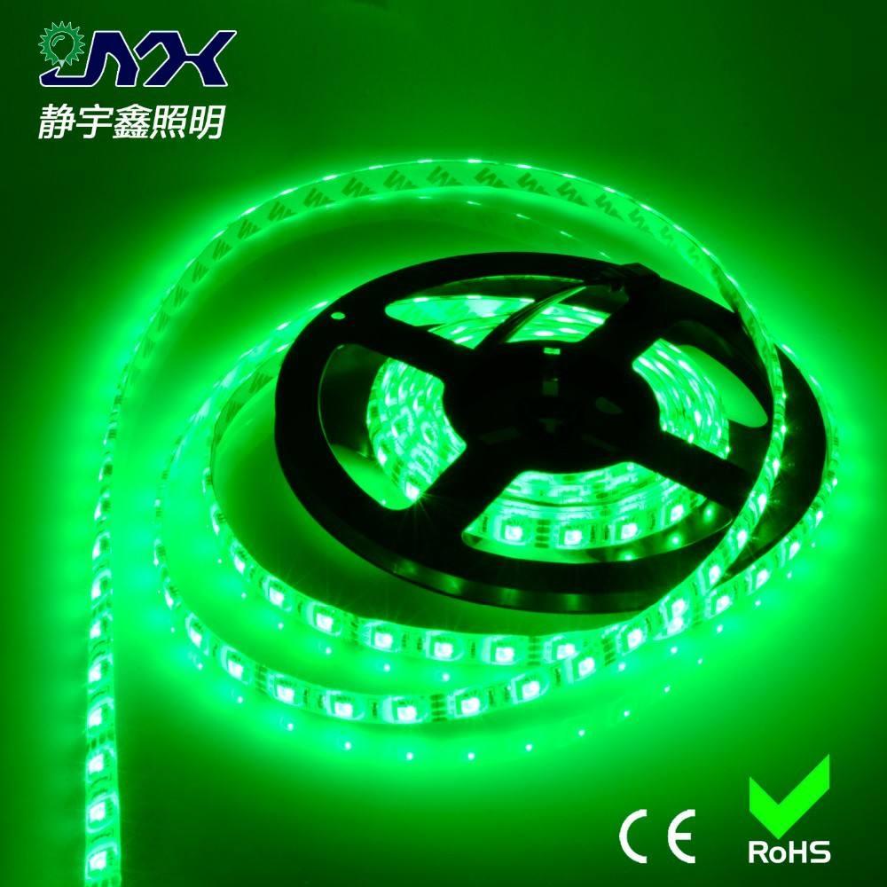 승진! led 라이트 바 3 칩 smd led 스트립 빛 5050 SMD 12 볼트 60 leds/m 단일 컬러 통과 CE, ROHS, FCC.